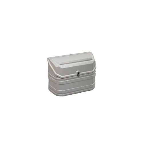 Sportscraft Gaskasten aus Kunststoff für 2 Gasflaschen weiß