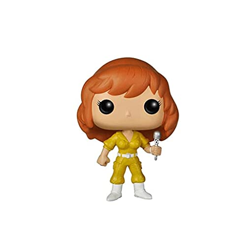 Funko Pop Television : Teenage Mutant Ninja Turtles - April Oneil 3.75inch Vinyl Gift for Anime Fans SuperCollection