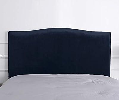 Material: hecho de 94% poliéster, 6% spandex, el forro del cabecero es cómodo, transpirable, elástico y resistente. Decora tu dormitorio: varios colores se pueden combinar con tu dormitorio, nuestra funda de cabecero cubrirá el desgaste de tu antiguo...