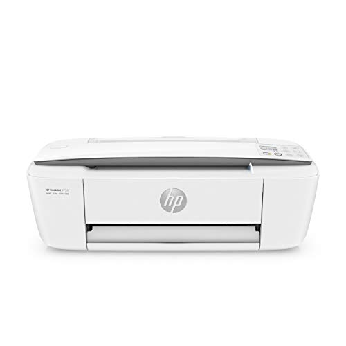 HP DeskJet 3750 T8X12B Stampante Multifunzione a Getto di Inchiostro, Stampa, Scannerizza, Fotocopia, Wireless, Grigio Perla