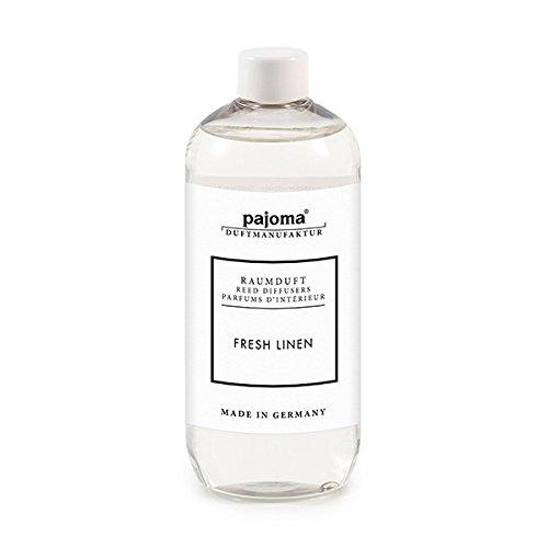Raumduft Nachfüllflasche 500ml pajoma Duftöl für Diffuser Duft wählbar (Fresh Linen)