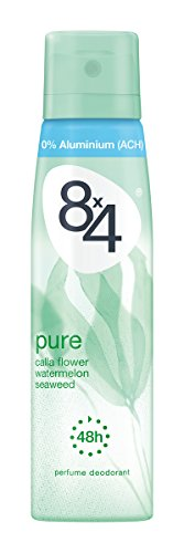 8x4 deodorant spray 150ml Pure