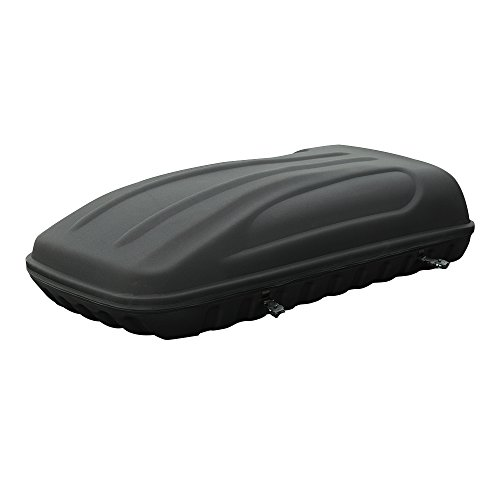3D MAXpider 6063L-09 Black Roof Box with Tie Down, 1 Pack