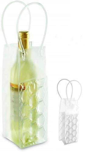 Necuma 5 Stück Weinkühler mit Eisgel zum einfrieren/Sektkühler Flaschenkühler