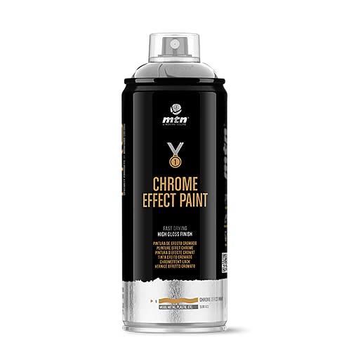 Montana Colors MTN Pro Efectos Metálicos-Plata Cromada, Spray 400ml, 400