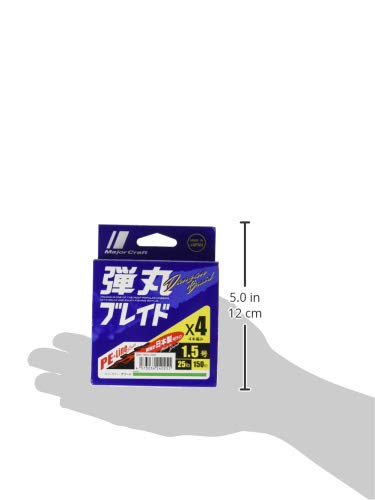 メジャークラフト『弾丸ブレイド4本編み150m』