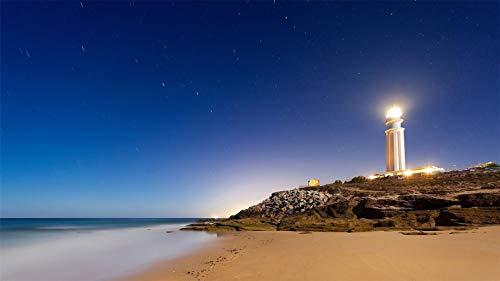 Rompecabezas Para Adultos 1000 Piezas Cape Trafalgar Lighthouse Montaje De Madera Decoración Para El Hogar Juego De Juguetes Juguete Educativo Para Niños Y Adultos Regalo
