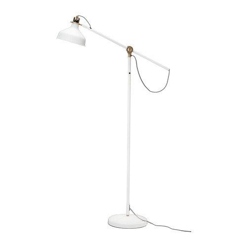 IKEA RANARP - Lámpara de pie / ebook, color blanco roto