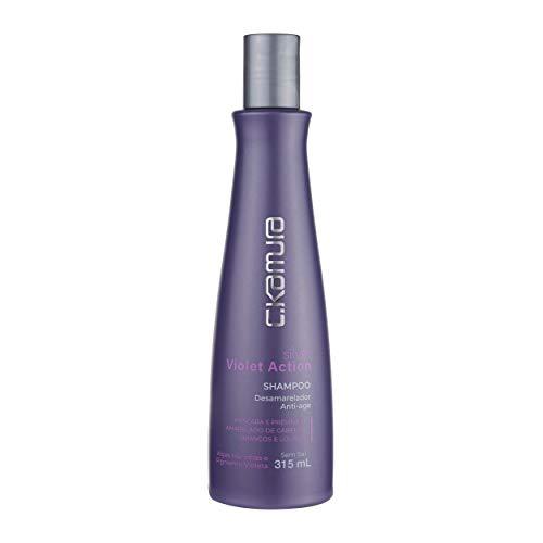 Shampoo Desamarelador Silver, C.Kamura, 315 ml