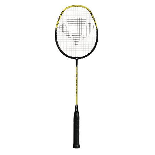 Carlton Aeroblade 3000 G4 Hh Badmintonracket, schwarz-gelb, Einheitsgröße