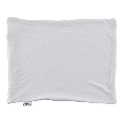 Bucky B671BWH 20- x 16- Inch Travel Duo Bed Pillow Case - White