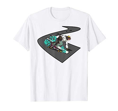 Skateboard Rampe pour patineurs ECG Skateur T-Shirt