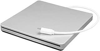 Portable Type-C DVD CD RW External Slot-in Drive Burner Writer Mobile Optical Drive for Laptop & Desktop & Notebook