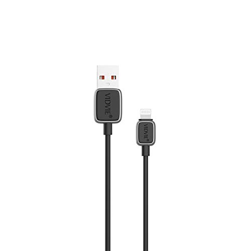 VIDVIE Lightning iPhone Charger Cable - [Apple MFi Certified] 3.3ft/1.2m High Speed Apple Charger Cable Lead USB Fast Charging Cable for iPhone 11 XS Max X XR 8 7 6s 6 Plus SE 5 5s 5c, iPad, iPod