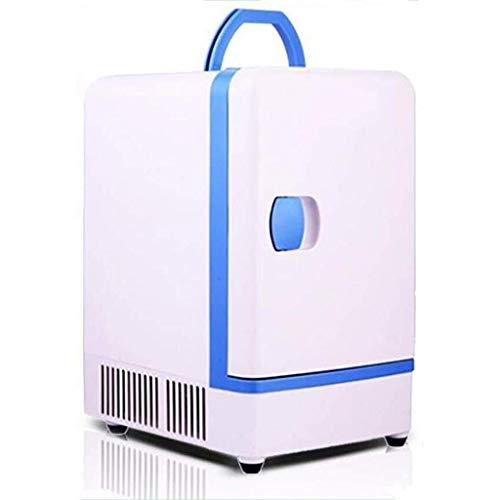 Draagbare koelkast mini, rustige desktop minibar 7L auto huishouden koelkast vrieskast zacht geschenk (kleur: B)
