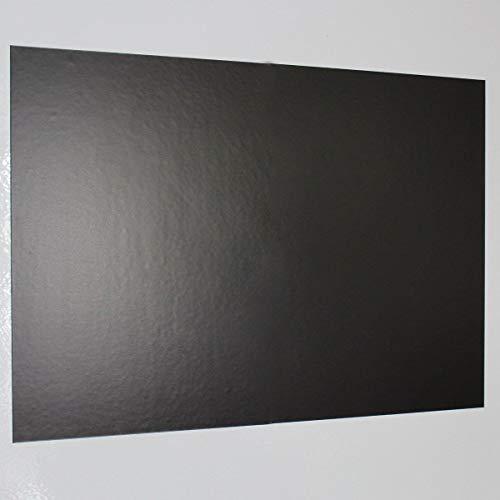 Lámina ferrosa DIN A3 autoadhesiva Magstick® I lámina que contiene hierro crudo sin revestimiento, diy I base adhesiva flexible para imanes I mag_005