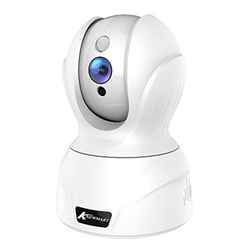 Telecamera IP FHD 1080P Wifi, Telecamera di Sorveglianza WiFi, baby monitor, con Visione Notturna, Audio Bidirezionale, Notifiche in tempo reale del sensore di movimento - KNEWMART