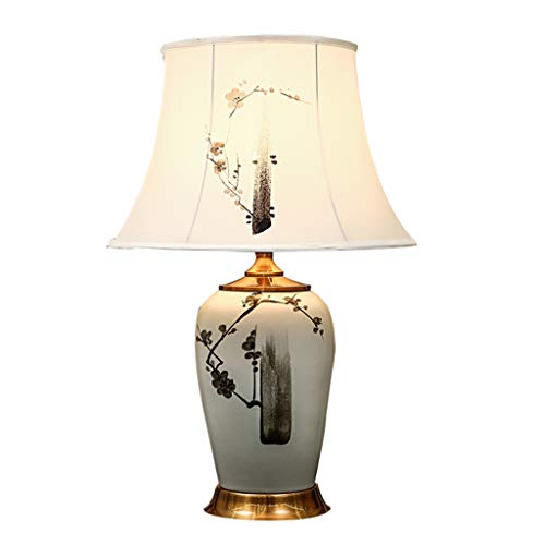 Bureaulamp, Bedside Reading Light decoratieve Woonkamer Slaapkamer Tafel Lamp E27 (Color : B)