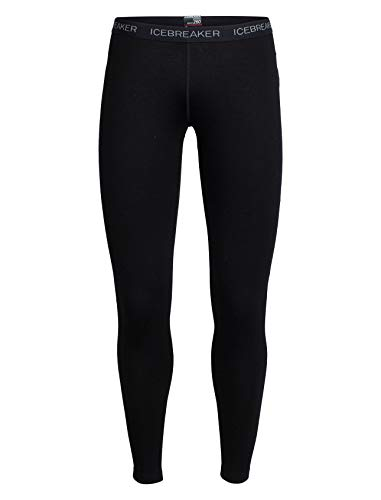 Icebreaker Damen Vertex Leggings Funktionshose, Black, XL