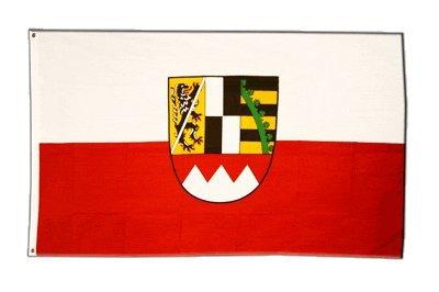 Fahne / Flagge Deutschland Oberfranken + gratis Sticker, Flaggenfritze®