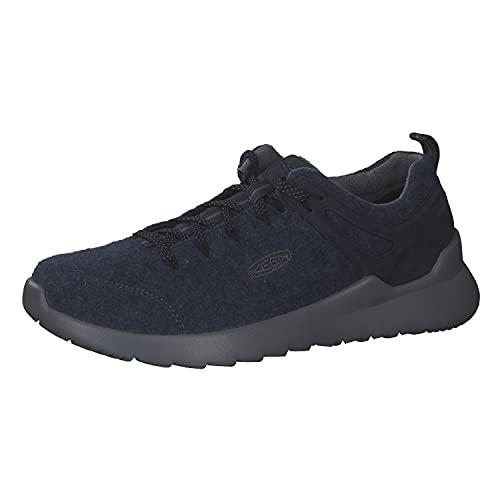 KEEN Herren Highland ARWAY-M Sneaker, Marineblau, Stahlgrau, 45 EU