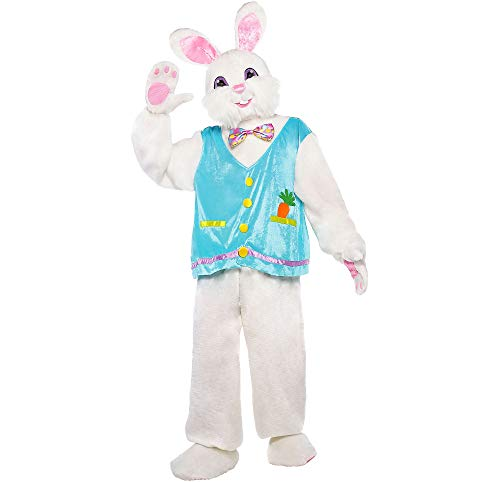 Amscan Easter Bunny Halloween Costume for Adults, Standard, Includes Multiple Accessories