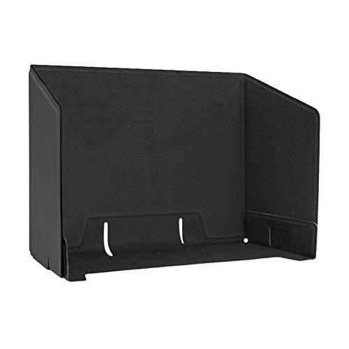 SunniMix Monitor Sun Hood, teléfono Celular-Tableta sombrilla Parasol Cubierta para la Longitud del teléfono con 7 Pulgadas, Ancho Dentro de 3,5 Pulgadas - Negro