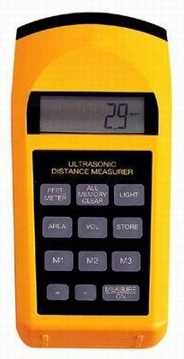 GrecoShop Distanziometro/Misuratore di Distanza ad ultrasuoni con Laser - MOD. C