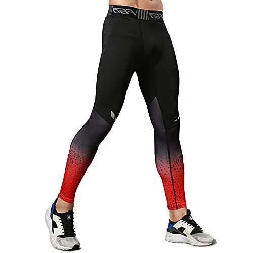 MakingDa Pantalones de compresión para hombre, entrenamiento deportivo, mallas para correr, leggings para entrenamiento técnico