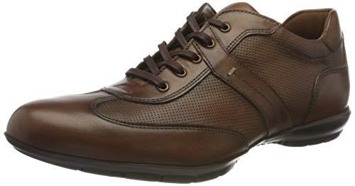LLOYD Herren Ascari Sneaker, Cognac, 44.5 EU