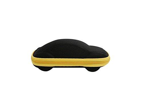 Joyfeel Buy Lunettes Sac Lunettes avec coulisse /Étui souple avec /étui en cuir pour lunettes de soleil 5/photos de Noir