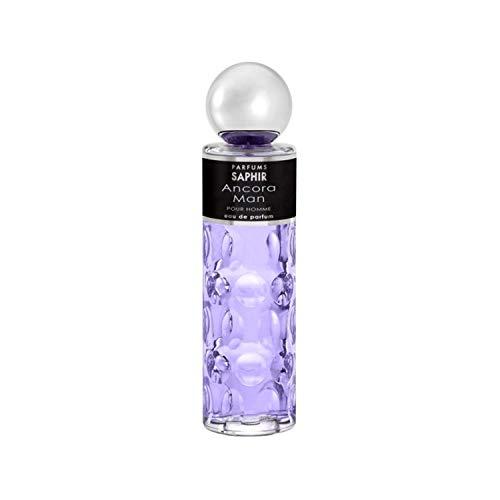 PARFUMS SAPHIR Ancora Man - Eau de Parfum con vaporizador para Hombre - 200 ml
