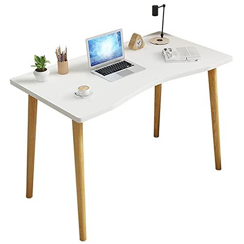 Escritorio de computadora, Escritorio moderno de estilo industrial simple Mesa de estudio de la oficina en casa Escritorio pequeño para computadora Mesa de juego de escritura resistente,100cm/39.4in