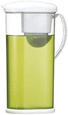 石丸合成樹脂(Ishimaru) ティーポット ホワイト 2.0L らくらく茶 H-551
