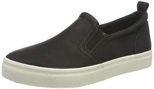 ESPRIT Damen 021EK1W320 Sneaker, 001/BLACK, 39 EU