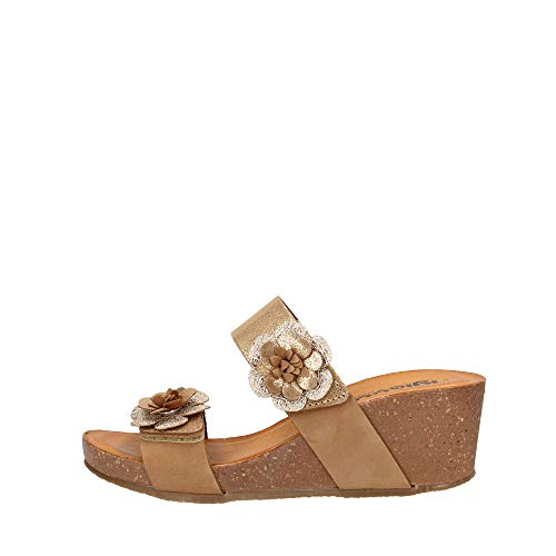 IGI&CO 5199522 Sandalo bio Scalzato Zeppa Donna Pelle