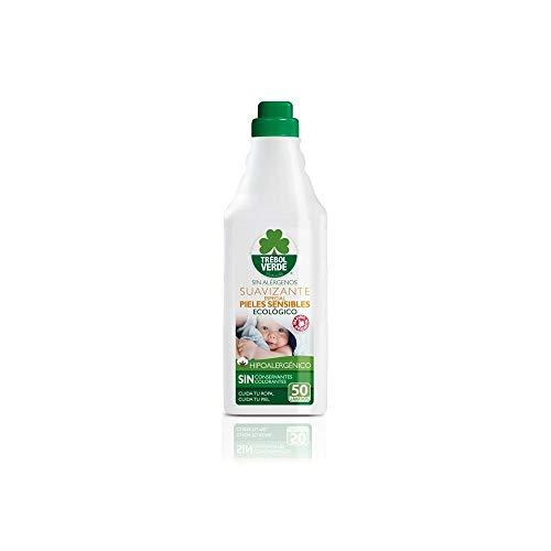 Suavizante pieles sensibles ECO Trébol Verde 1 L