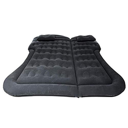 Colchón hinchable para coche con dos cojines de aire, colchón de camping,...