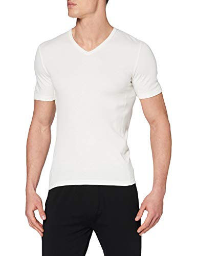 Damart Tee-shirt manches courtes Thermolactyl Bioactif Haut thermique Homme Blanc (Blanc) Medium (Taille fabricant: M)