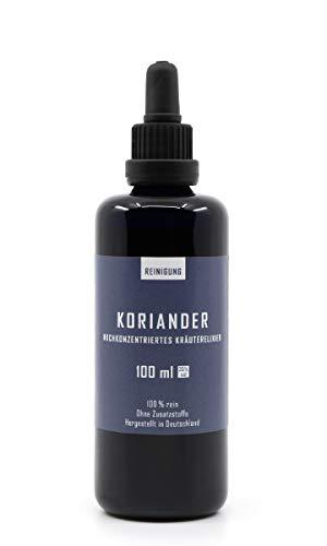 Koriander Tinktur 100 ml - In Handarbeit aus frischen Korianderblättern in Brandenburg hergestellt