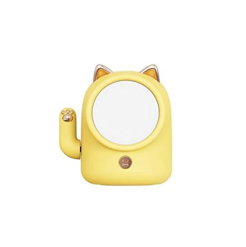 Wufansshop Cute Lucky Cat Night Light Lámpara De Noche Led Recargable Usb Sensor Táctil Animales Luz De Noche Para El Dormitorio Del Bebé Regalo De Navidad Tamaño 10.4 × 8.8Cm