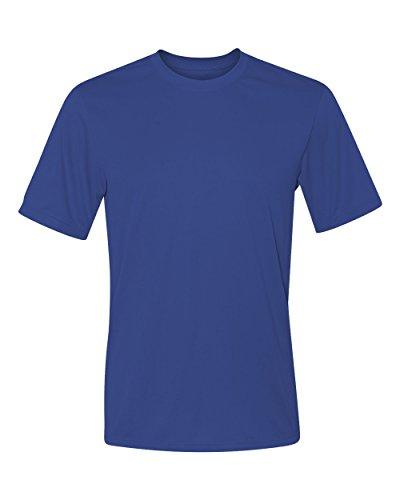 Hanes 4 oz NANO-T Cool Dri T-Shirt, Deep Royal, XXX-Large