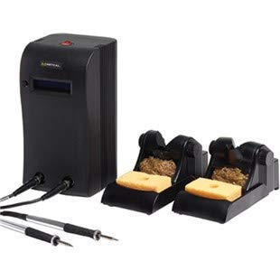 Amazing Deal Metcal MX-5211 Solder/Rework System w/Dual Simultaneous Ports & 2 MX-H1-AV Irons and Wo...