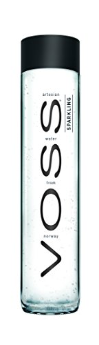 VOSS Artesian Sparkling Water, 375 ml Glass Bottles (Pack of 12)