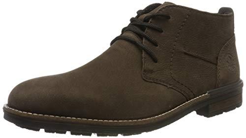 Rieker Herren B1330 Desert Boots, Braun (Nougat/Schwarz 25), 43 EU