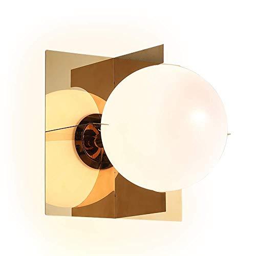 Carl Artbay renovatie van het huis / tafellamp, Scandinavische persoonlijkheid, creatieve wandlamp voor slaapkamer wit + goud