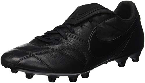 Nike Premier II FG Soccer Cleats (6 Big Kid M US, Black/Black)