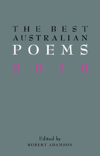 The Best Australian Poems 2010 (English Edition)