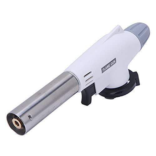 Flamémetro adecuado, botón de ajuste de gas de gas de gas 1300 ℃ Llama ajustable Metal y plástico para calentar