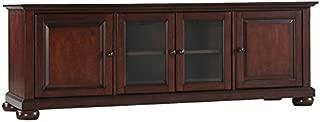 Crosley Furniture KF10005AMA Alexandria 60-inch Low-Profile TV Stand, Vintage Mahogany